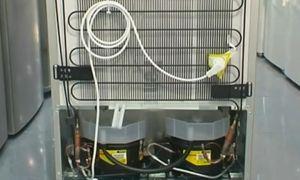 Морозилка горячая, греются стенки морозильной камеры