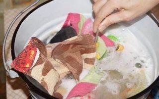 Как стирать кухонные полотенца: вывести старые и жирные пятна