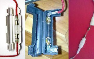 Чем заменить предохранитель в микроволновке