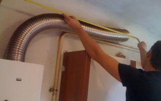 Гофра для газовой колонки: как выбрать трубу