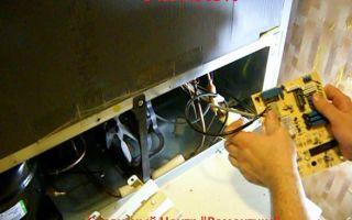 Ошибки холодильников вирпул: как исправить своими руками