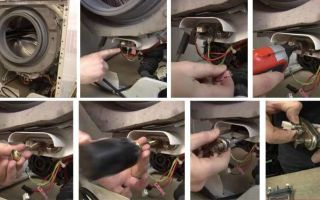 Как заменить тэн в стиральной машине самсунг своими руками