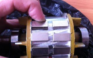 Как сделать генератор из двигателя стиральной машины своими руками