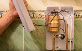 Проточный водонагреватель своими руками: как сделать