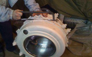 Как разобрать барабан стиральной машины своими руками