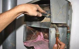 Как почистить газовую колонку от накипи, пыли и сажи