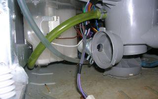 Как подключить посудомоечную машину bosch своими руками