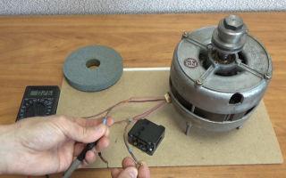 Как подключить двигатель от старой стиральной машины — инструкция