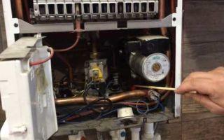 Закипает газовый котел: как устранить перегрев