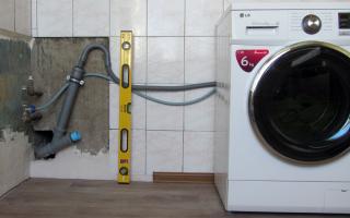 Как ровно установить стиральную машину в квартире