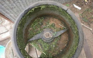 Траворезка: измельчитель травы своими руками из стиральной машины