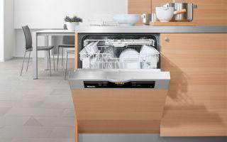 Частично встраиваемая посудомоечная машина — обзор