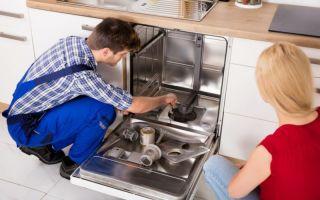 Почему посудомоечная машина не моет посуду — причины, ремонт