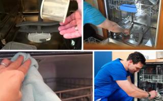 Как почистить посудомоечную машину от накипи своими руками