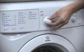 Ошибка f14 в стиральной машине индезит — что делать