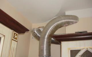 Вытяжка для газовой колонки, воздуховод — как сделать