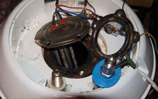 Как разобрать водонагреватель своими руками