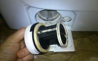 Как почистить фильтр в стиральной машине своими руками