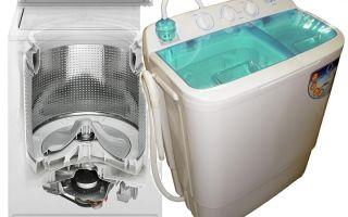 Как выбрать активаторную стиральную машину с функцией отжима