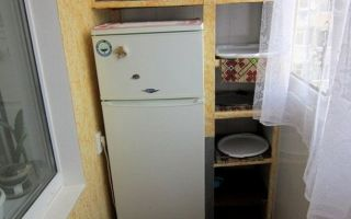 Можно ли поставить холодильник на балконе: будет ли работать