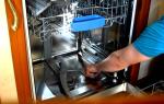 Как снять и демонтировать посудомоечную машину самостоятельно