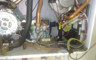 Почему течет газовый котел