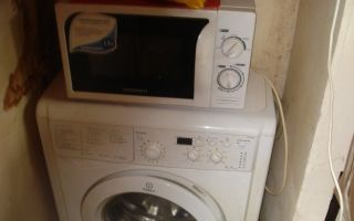 Можно ли ставить микроволновку на стиральную машину: за и против