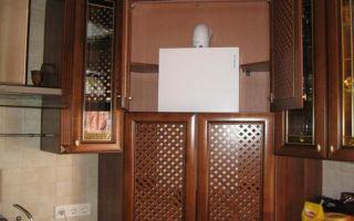 Как закрыть газовую колонку: короб, декор, дверца