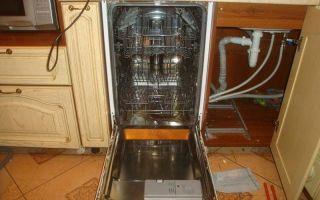 Установка посудомоечной машины — как провести самостоятельно