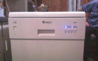 Ошибки посудомоечных машин ардо: как исправить