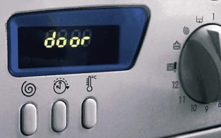 Ошибка f17 в стиральных машинах аристон — что делать