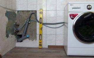 Как установить стиральную машину самостоятельно – правила и советы