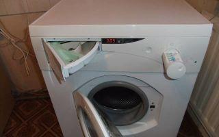 Ошибка f06 в стиральной машине аристон, как исправить