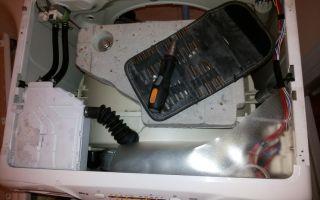 Ремонт посудомоечной машины канди своими руками