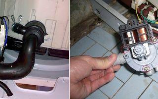 Почему не работает насос стиральной машины, что делать