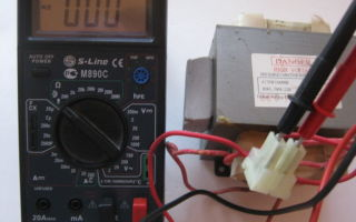 Трансформатор для микроволновки: как проверить