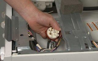 Прессостат в посудомоечной машине — проверить и заменить
