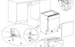 Регулировка двери посудомоечной машины: как установить правильно