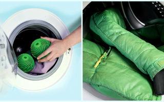 Как стирать пуховик в стиральной машине, чтобы не испортить