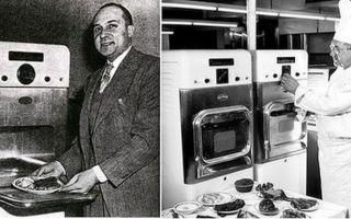 Первая микроволновка: кто изобрел, как менялась микроволновая печь