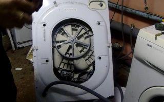 Как разобрать стиральную машину индезит своими руками