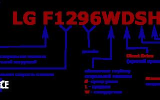 Маркировка стиральных машин lg: расшифровка обозначений