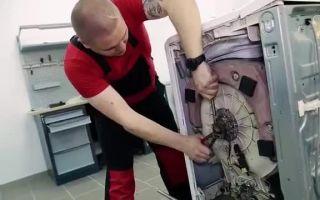 Как заменить подшипник в стиральной машине zanussi своими руками