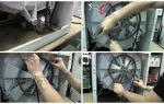 Болтается барабан в стиральной машине, что делать
