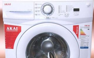 Частые ошибки стиральной машины акаи — как исправить