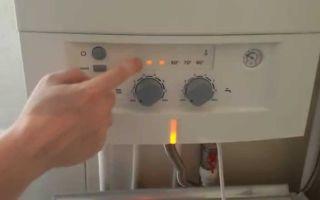 Ошибки и неисправности газового котла бош