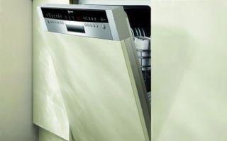 Посудомоечные машины с открытой панелью — что это, как выбрать
