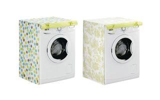 Нужен ли чехол на стиральную машину — как сшить самостоятельно