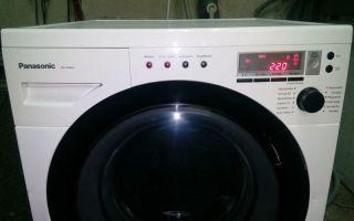 Обзор стиральных машин panasonic: плюсы и минусы