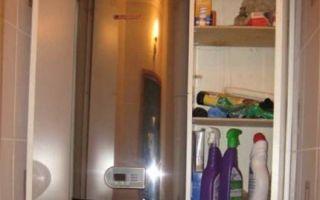 Как спрятать водонагреватель в туалете: установка своими руками